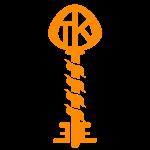 Twisted Key Icon